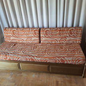 Καναπές - Κρεβάτι με 3 συρτάρια