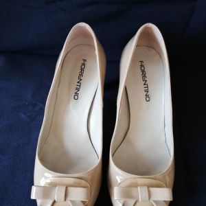 Παπούτσια γυναικεία λουστρίνι FIORENTINO ν.38 peep toe