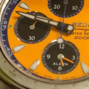seiko GIUGIARO design Macchina sportiva chronograph quartz 90's