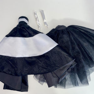 Barbie Fashion Model Collection Black & White Forever