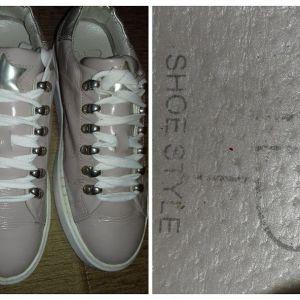 δερμάτινα sneakers 38