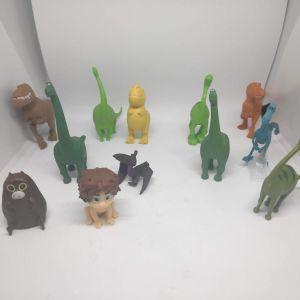 12 Συλλεκτικες Φιγουρες Δρασης Ο Καλόσαυρος (The Good Dinosaur)