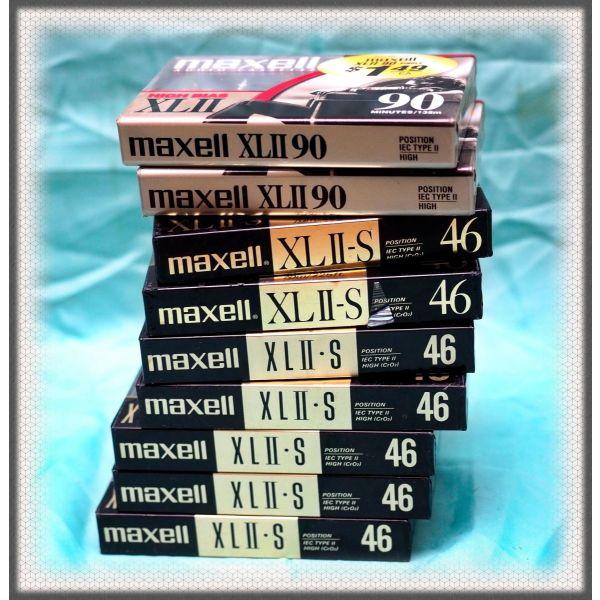 kasetes ichou chromiou Maxel, paketo 9 temachia