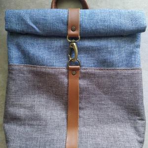 Τσάντα πλάτης χειροποίητη