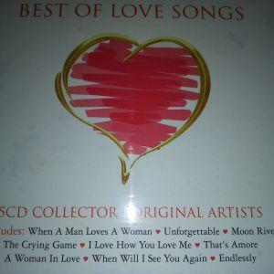 CD BEST OF LOVE SONGS