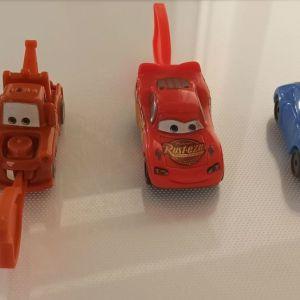 Αυτοκινητάκια disney cars δωράκια δημητριακών