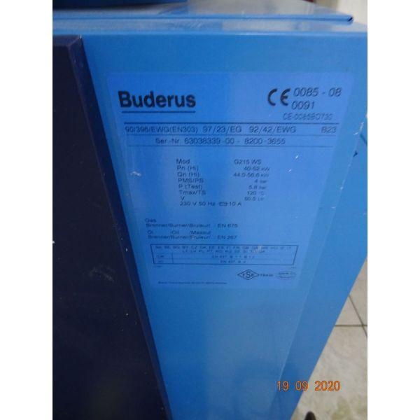 levitas ke kafstiras  BUDERUS G215 WS -- thermostates ke kikloforites KAI 2 plastikes dexamenes petreleou