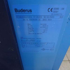 ΛΕΒΗΤΑΣ ΚΑΙ ΚΑΥΣΤΗΡΑΣ  BUDERUS G215 WS -- ΘΕΡΜΟΣΤΑΤΕΣ ΚΑΙ ΚΥΚΛΟΦΟΡΗΤΕΣ KAI 2 ΠΛΑΣΤΙΚΕΣ ΔΕΞΑΜΕΝΕΣ ΠΕΤΡΕΛΑΙΟΥ