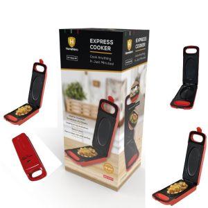 Homevero Ηλεκτρικός παρασκευαστής γευμάτων Κόκκινος Express Cooker