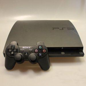 PS3 slim + 1 Dualshock Controller 3 + 4 Παιχνίδια