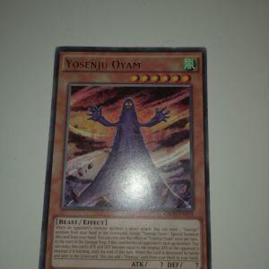 Yosenju Oyam Yu-Gi-Oh card