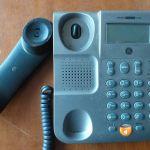 Thomson σταθερο τηλεφωνο,αν.ακροαση εγχρωμη οθονη.