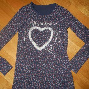 benetton μπλουζα για 10-11χρ