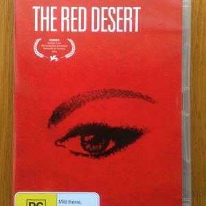 The red desert dvd