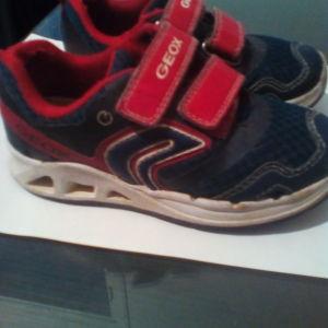Geox αθλητικα με φωτακια led,παιδικά παπούτσια  νο 27
