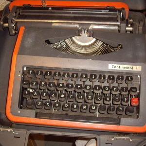Γραφομηχανη continental f