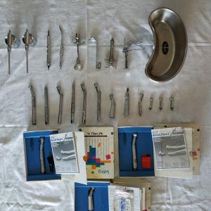 Οδοντιατρικά εργαλεία διάφορα