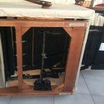 Αυθεντική La Z boy ανακλινομενη δερμάτινη πολυθρόνα