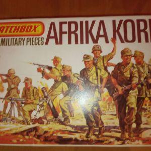 Στρατιωτάκια Afrika corps machbox 1:76 + τζιπ