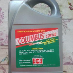 Λαδι COLUMBIA COLUMBUS SAE 15W-40 4L