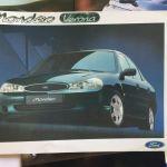 προσπέκτους από Alfa Romeo , BMW , Audi , Peugeot , Ford , Hyundai (από έκθεση αυτοκινήτου του 2000)