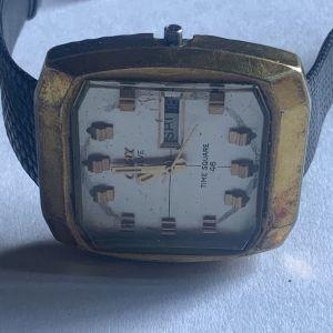 Camy time square 46, jumbo size Automatic ρολόι χειρός ελβετικό 1970
