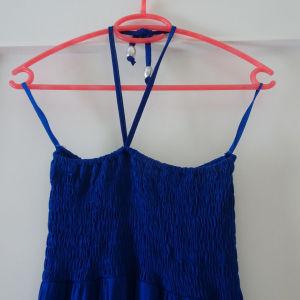 Φόρεμα μακρύ μπλε