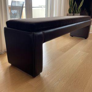 Πάγκος δερμάτινος (stool)