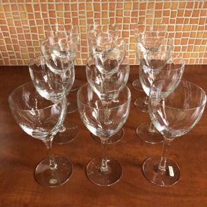 12 ποτήρια κρασιού κρυστάλλινα