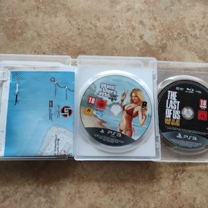 PS3 games The last of us Game of the year edition + gta 5