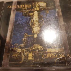 "SEPULTURA – ""Chaos A.D."" (Roadrunner) thrash (Η 1η έκδοση, out of print!!!)"