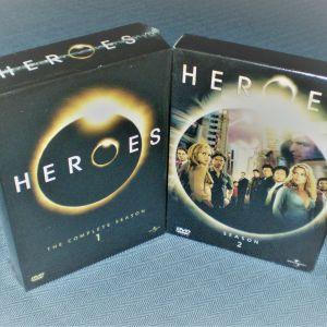 Heroes - Οι Πλήρεις Πρώτοι Δύο Κύκλοι - 11 DVD