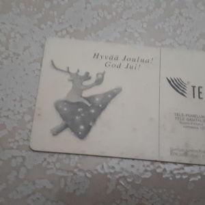 Συλλεκτική τηλεκάρτα Φινλανδίας 1997