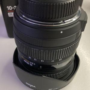 Sigma 10-20 F3.5