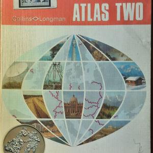 Vintage Collinns<>Longman Atlas 1971