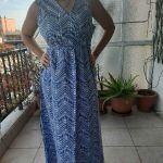 Μαξι δροσερό φόρεμα σε καλοκαιρινές αποχρώσεις !