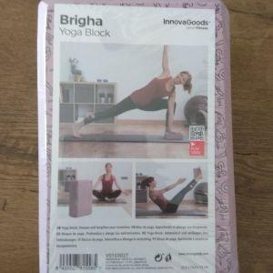 Γιόγκα μπλοκ Brigha InnovaGoods