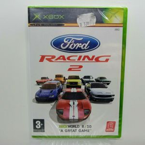 FORD RACING 2 XBOX VIDEO GAME EUROPEAN PAL SEALED NEW
