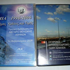 DVD (Ίμια, Αυτοκινητόδρομοι)