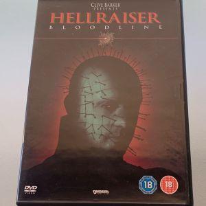 Hellraiser bloodline αυθεντικό dvd