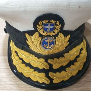 Δύο Στρατιωτικά πηλίκια αξιωματικού του πολεμικού Ναυτικού