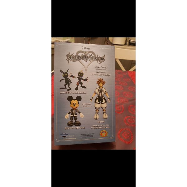 polounte figoures Kingdom Hearts