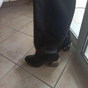 Δερμάτινες συλλεκτικές μπότες  από Μιλάνο