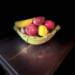 Vintage Φρουτιέρα με Φρούτα