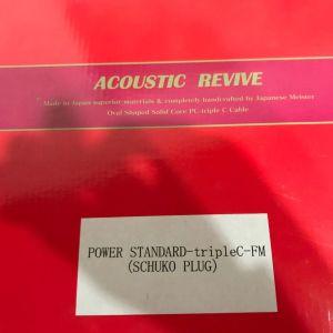 ACOUSTIC REVIVE POWER STANDARD-tripleC-FM