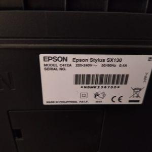 Εκτυπωτής Epson printer and scanner