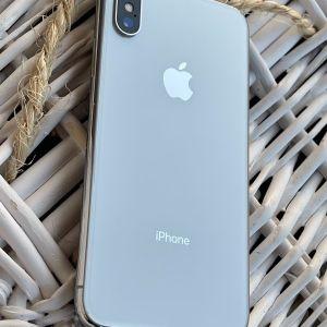 iPhone X 64gb silver, τέλειο