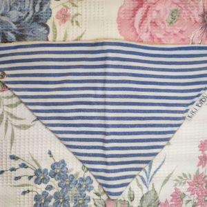 Kiki Bibs Σαλιάρα-μπαντάνα Blue Stripes