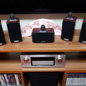 5.0 Crystal audio system 2 ( home cinema )