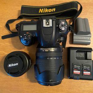 Nikon D7500 με 2 φακούς και εγγύηση
